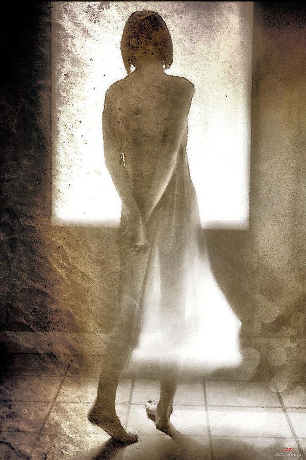 Shadow Mixed Media - Jfx2014-043 by Emilio Arostegui