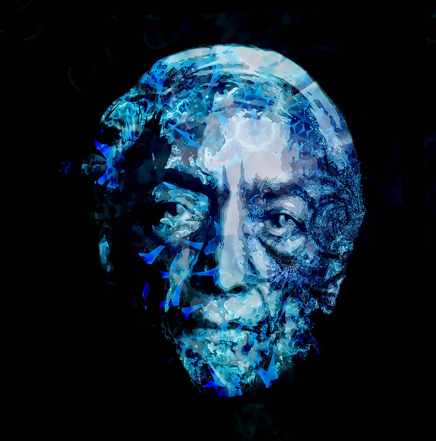Jiddu Krishnamurti Digital Art - Jiddu Krishnamurti by D Walton