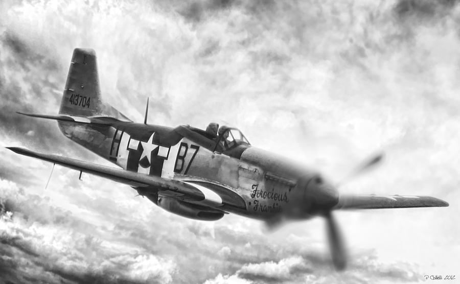 P-51 Digital Art - Jig Is Up by Peter Chilelli