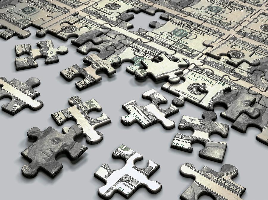 Business Photograph - Jigsaw Puzzle by Ktsdesign/science Photo Library