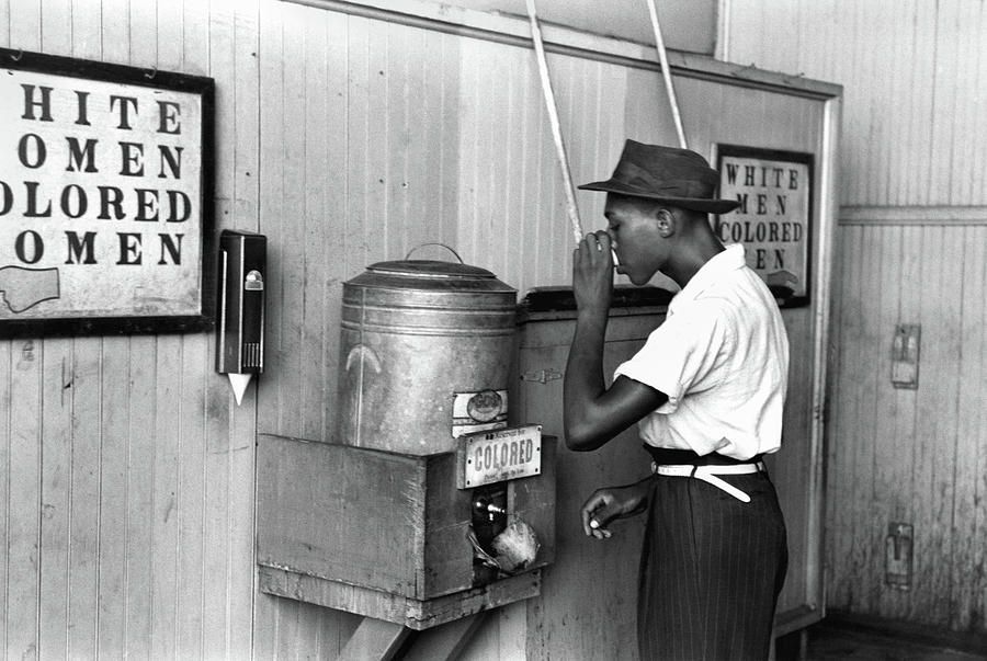 1939 Photograph - Jim Crow Laws, 1939 by Granger