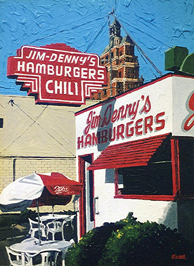 Sacramento Painting - Jim Dennys by Paul Guyer