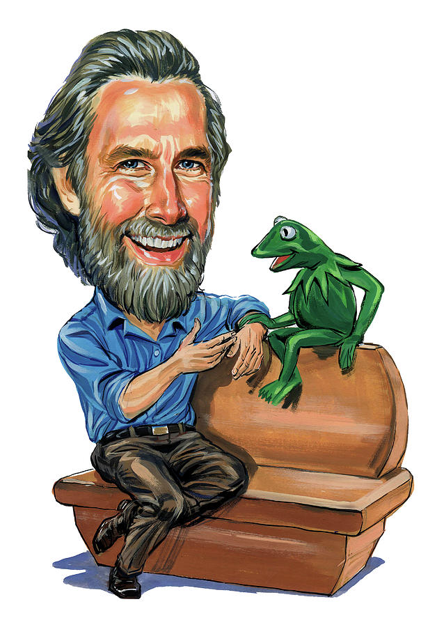 Jim Henson Painting - Jim Henson by Art