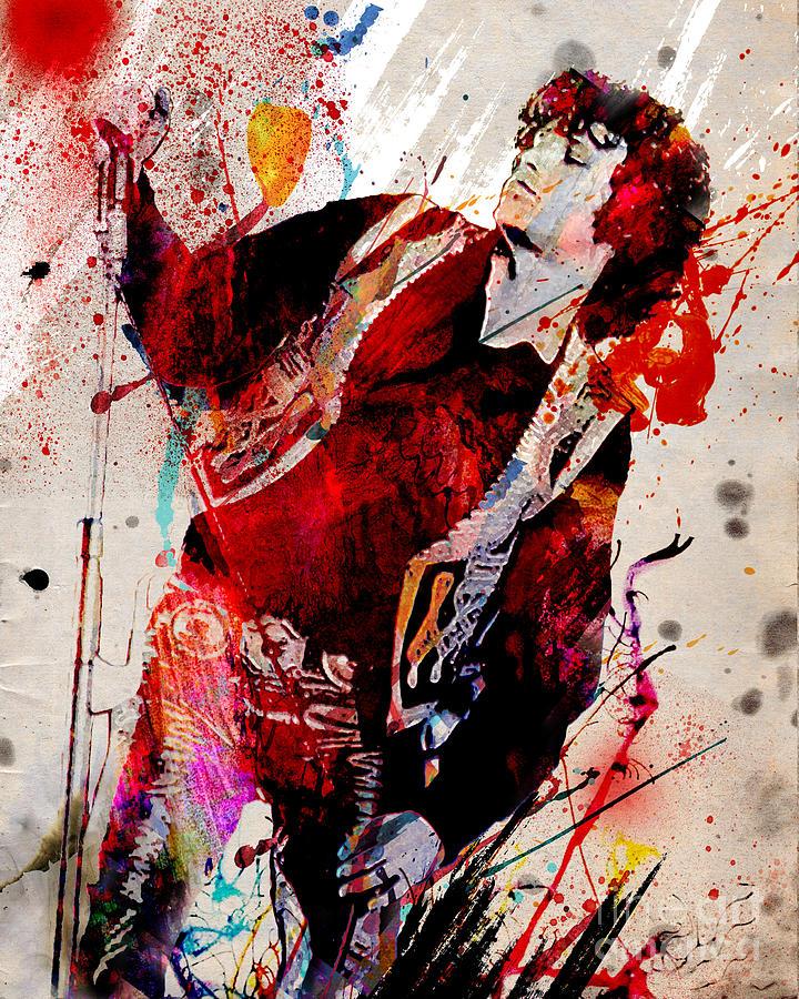 Jim Morrison The Doors Painting By Ryan Rock Artist