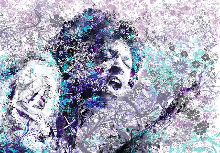 Jimi Hendrix Painting - Jimi Hendrix 3 by Bekim M
