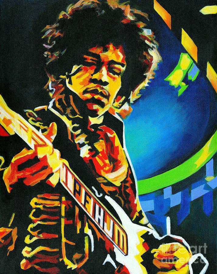 Bold As Love. Jimi Hendrix  by Tanya Filichkin