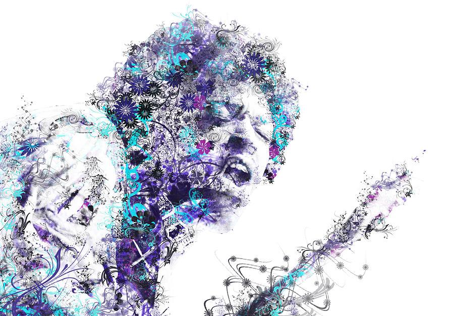 Jimi Hendrix Painting - Jimi Hendrix by Bekim M