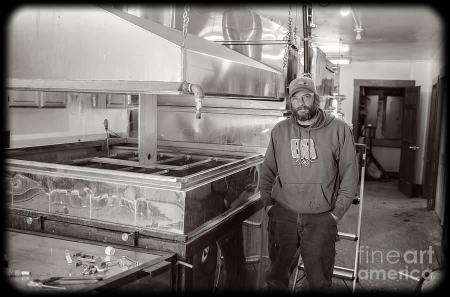 Jimmy Photograph - Jimmy At Mt Cube Sugar Farm by Edward Fielding