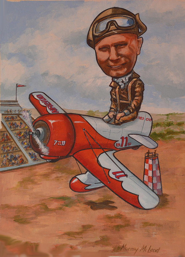 Jimmy Doolitle by Murray McLeod