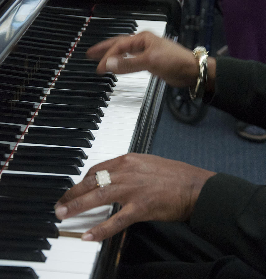 Jimmy on Piano by Tracie L Hawkins