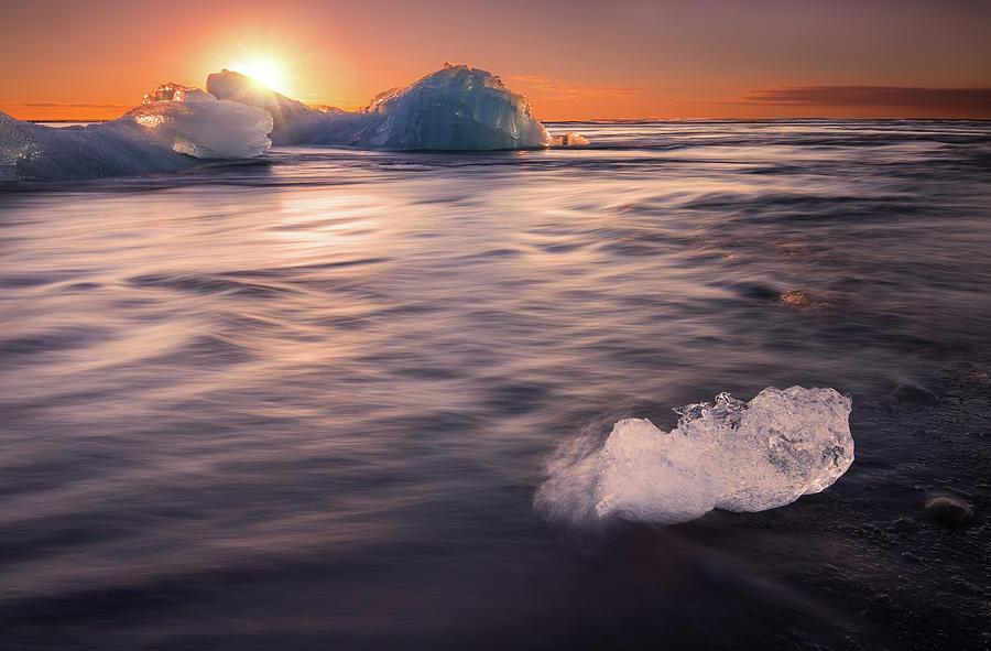 Jökulsárlón Photograph by Photography By Byron Tanaphol Prukston