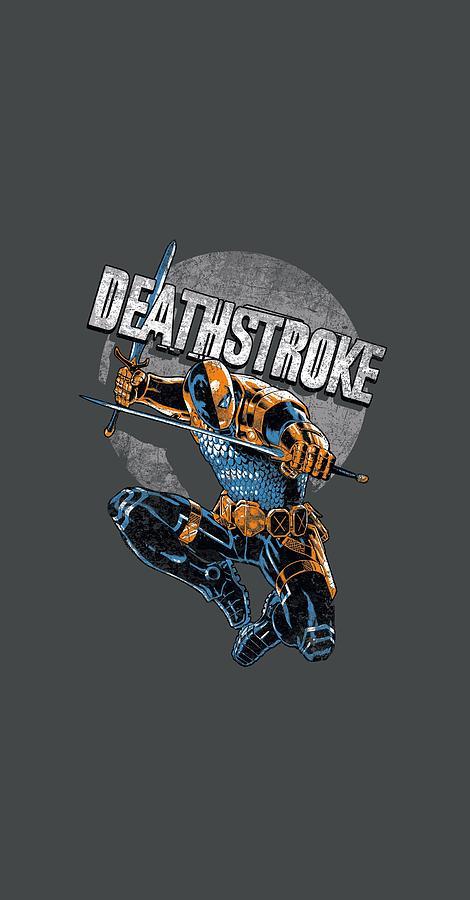 Jla - Deathstroke Retro Digital Art by Brand A