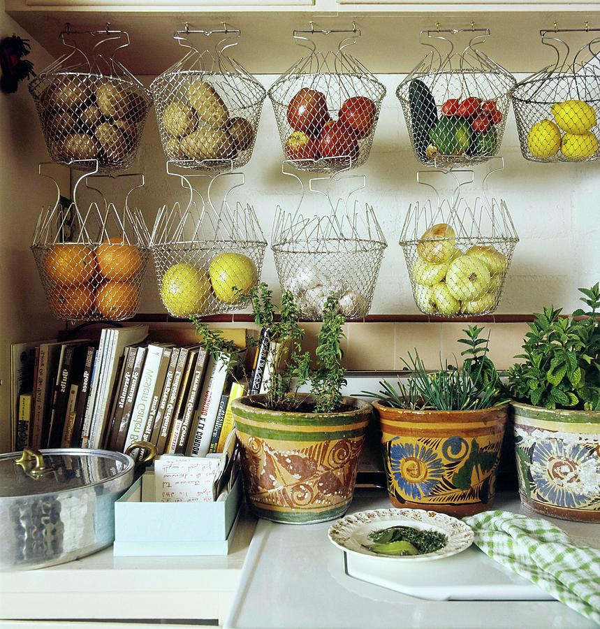 Joan Didions Kitchen Photograph by Henry Clarke