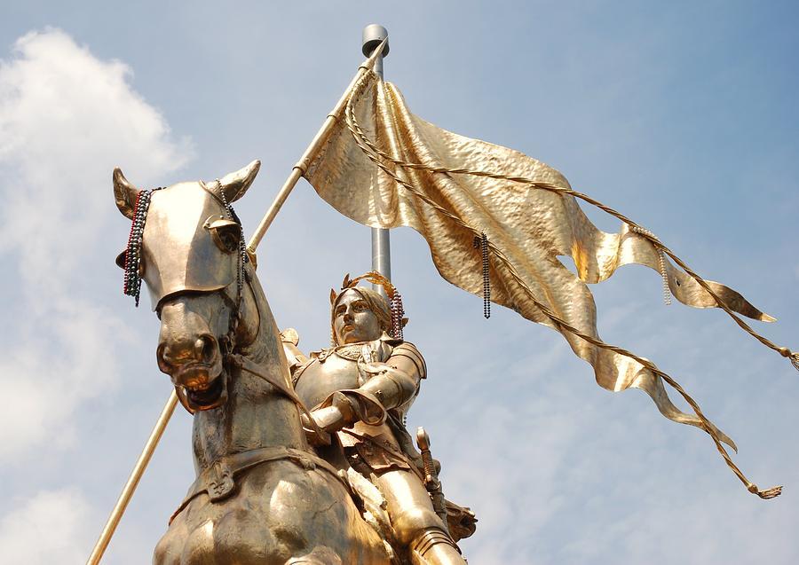 Joan Of Arc Photograph - Joan Of Arc by Pamela Schreckengost