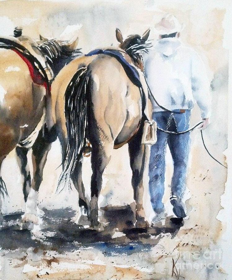 Horse Painting - Jobs Done by Kay Lodahl