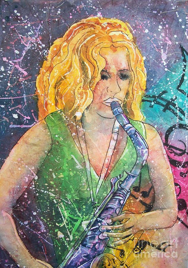 Jodi On Sax by Carol Losinski Naylor