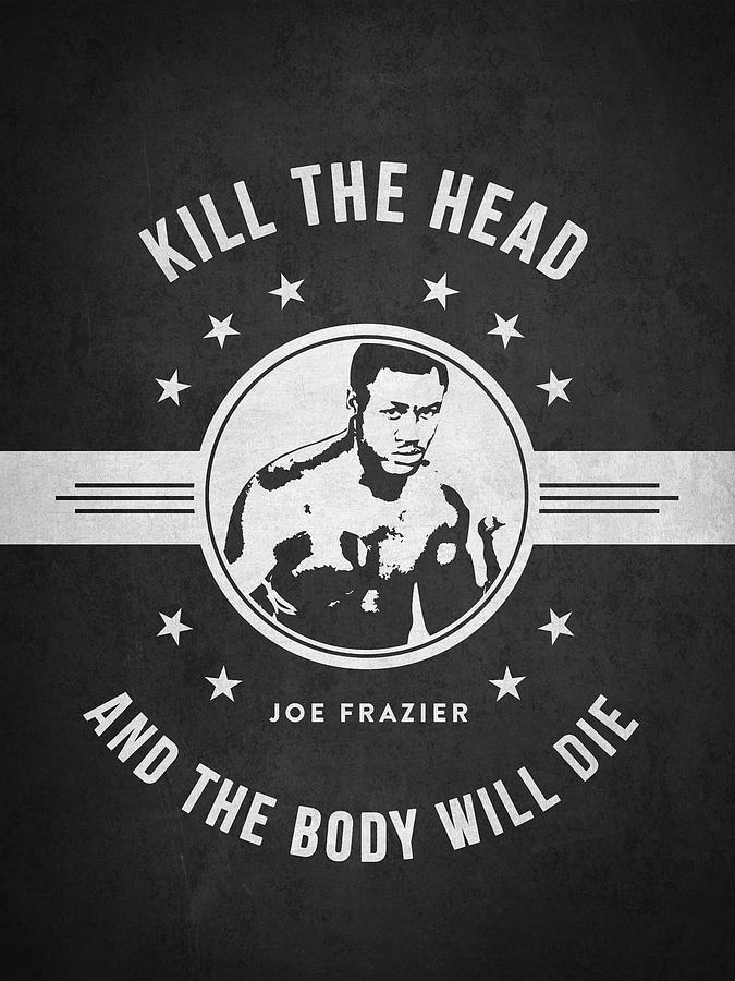 Joe Frazier - Dark Digital Art