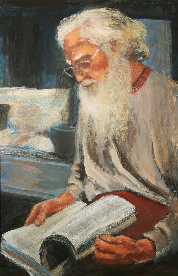 Joe Painting by Helen Hickey