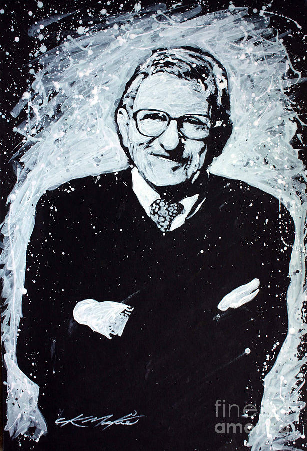 Joe Paterno Painting - Joe Paterno by Chris Mackie