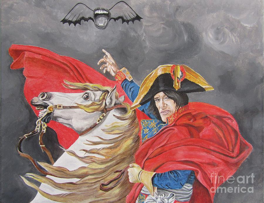 Joe Perry Painting - Joe Perry On Horse by Jeepee Aero