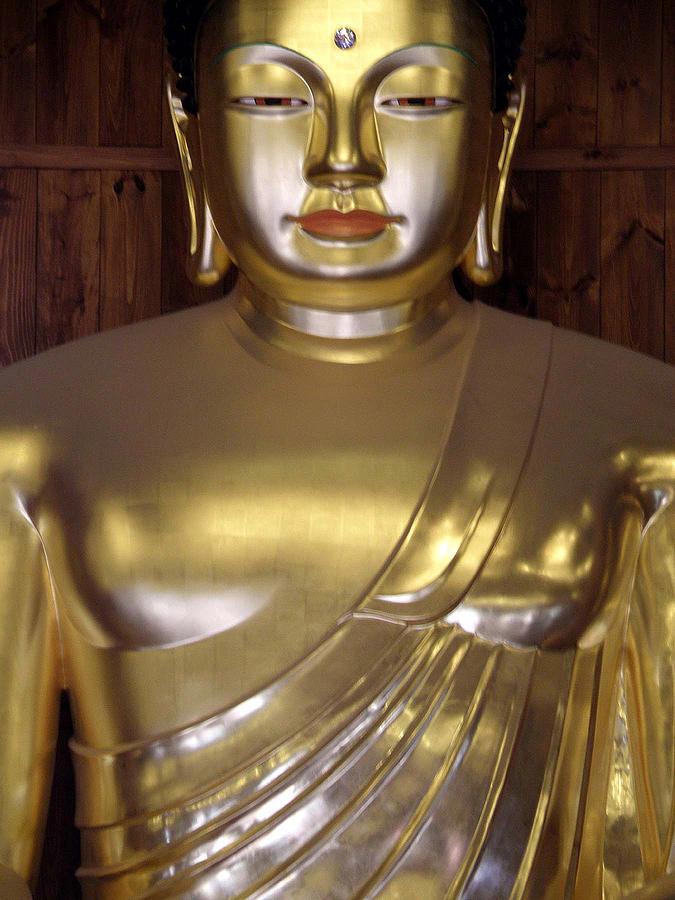 Buddha Photograph - Jogyesa Buddha by Jean Hall