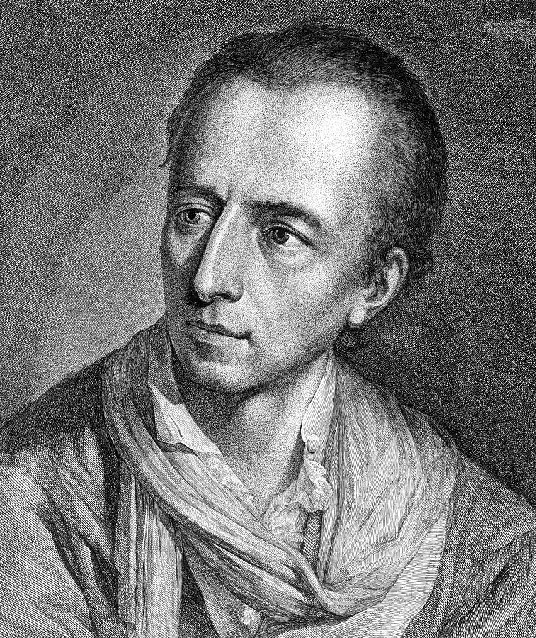 18th Century Painting - Johann Joachim Winckelmann (1717-1768) by Granger