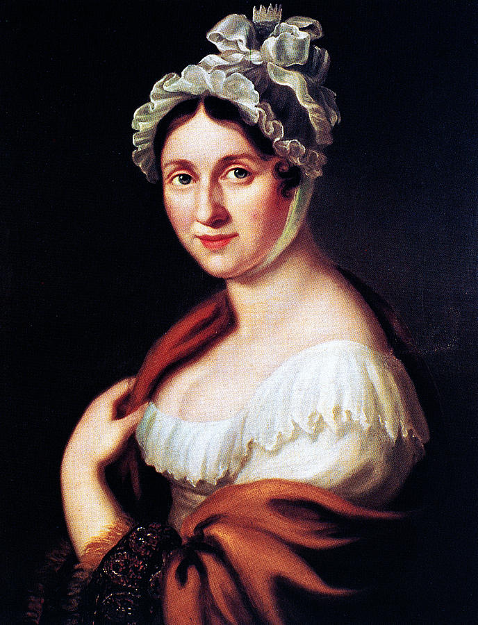 1813 Painting - Johanna Wagner (1774-1848) by Granger