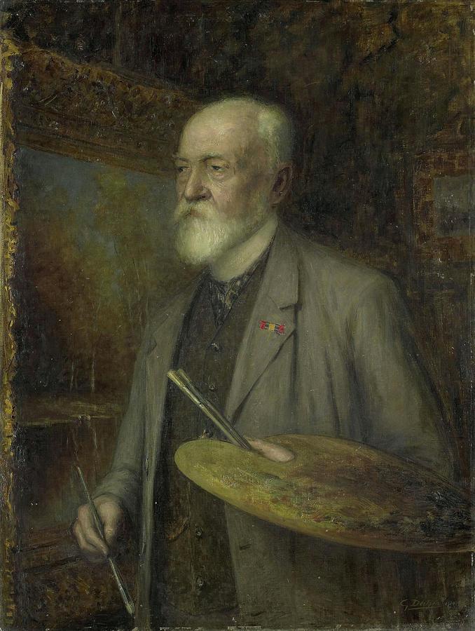1828 Painting - Johannes Gijsbert Vogel 1828-1915 by Litz Collection