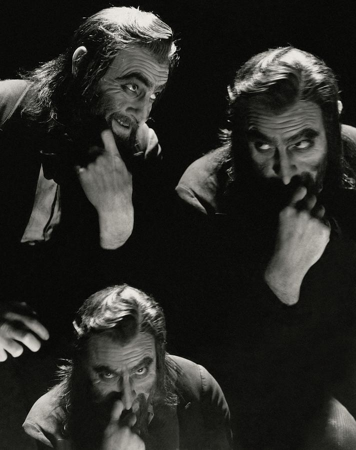 John Barrymore In Character Role Of Svengali Photograph by Cecil Beaton