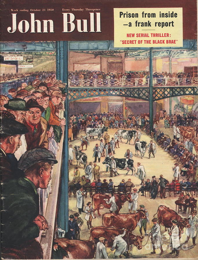 1950�s Drawing - John Bull 1950 1950s Uk Smithfield by The Advertising Archives