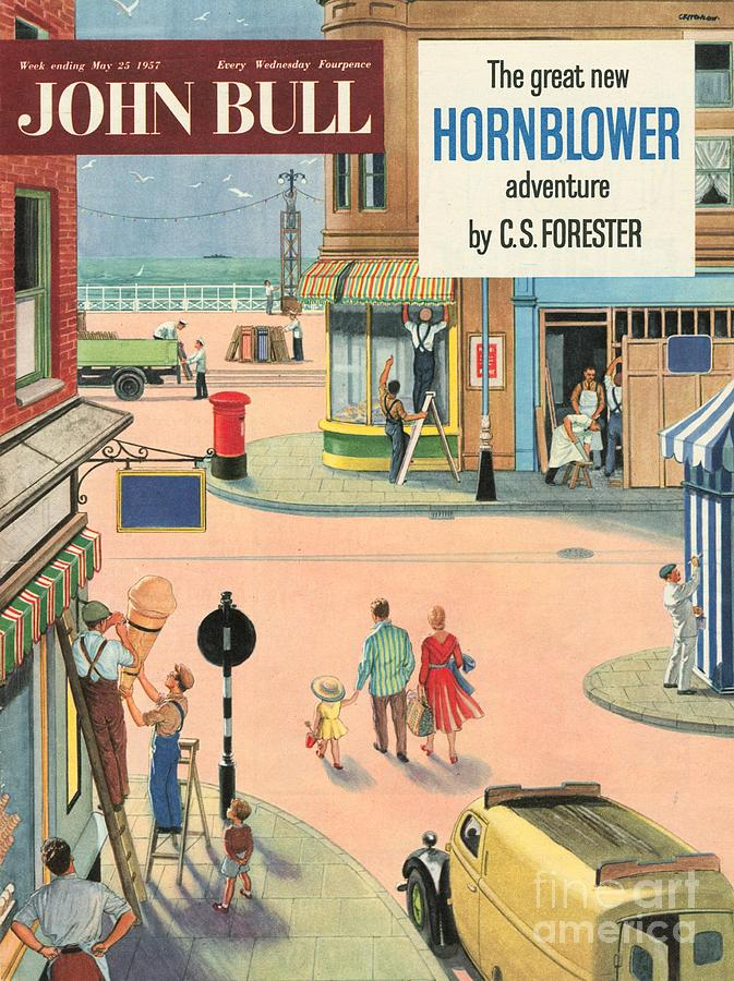 1950s Drawing - John Bull 1950s Uk Holidays Handymen by The Advertising Archives