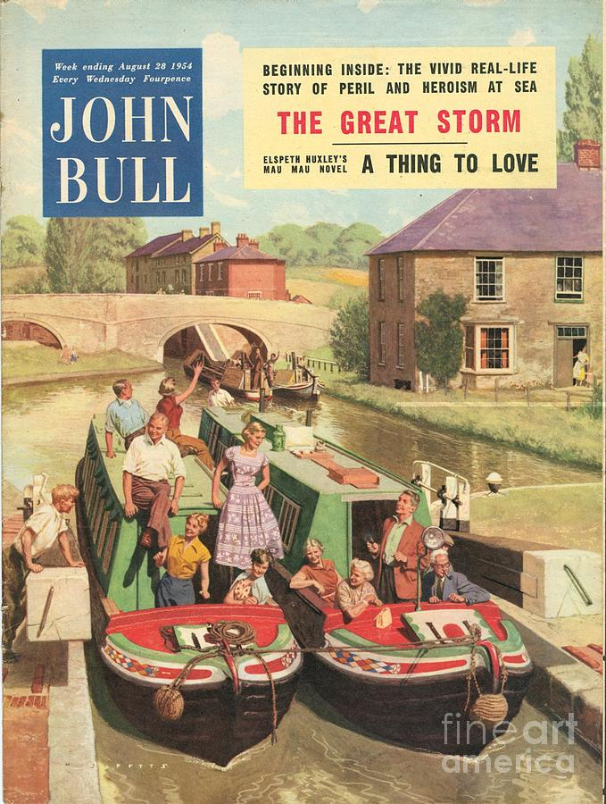 1950�s Drawing - John Bull 1950s Uk Holidays Narrow by The Advertising Archives