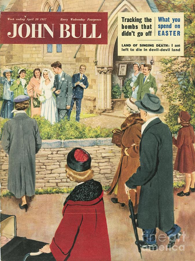 1950s Drawing - John Bull 1950s Uk Love Marriages by The Advertising Archives
