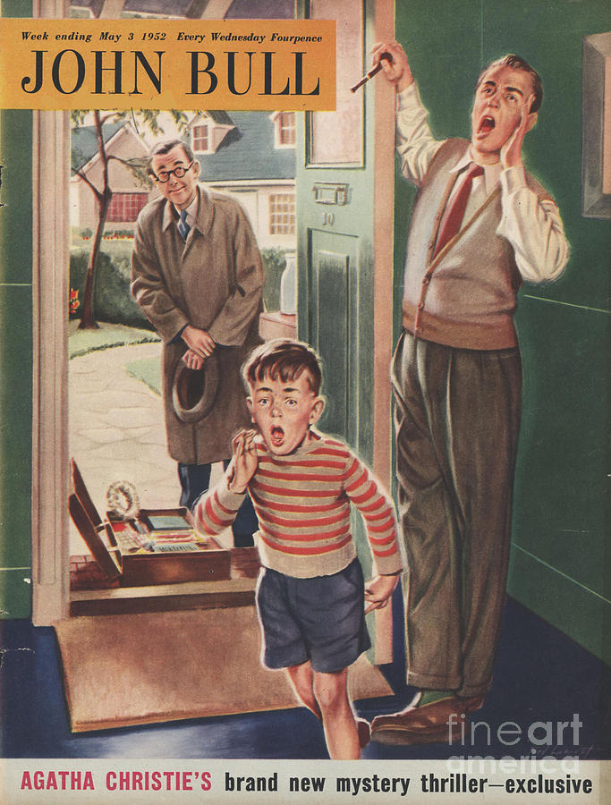 1950s Drawing - John Bull 1952 1950s Uk Travelling by The Advertising Archives