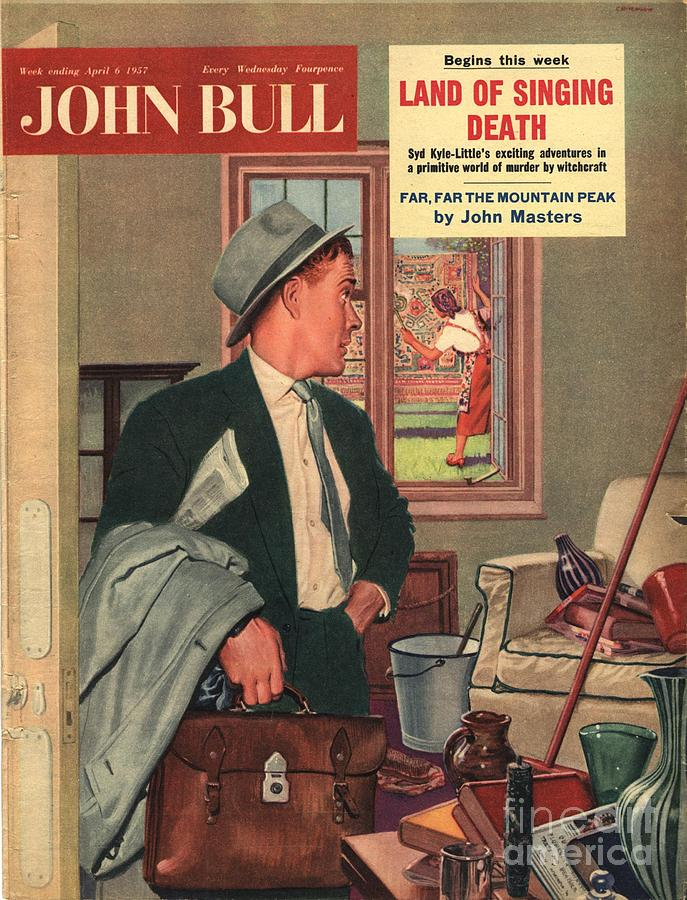 1950�s Drawing - John Bull 1957 1950s Uk Cleaning by The Advertising Archives