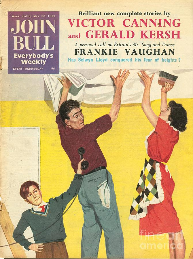 1950�s Drawing - John Bull 1959 1950s Uk Decorating Diy by The Advertising Archives