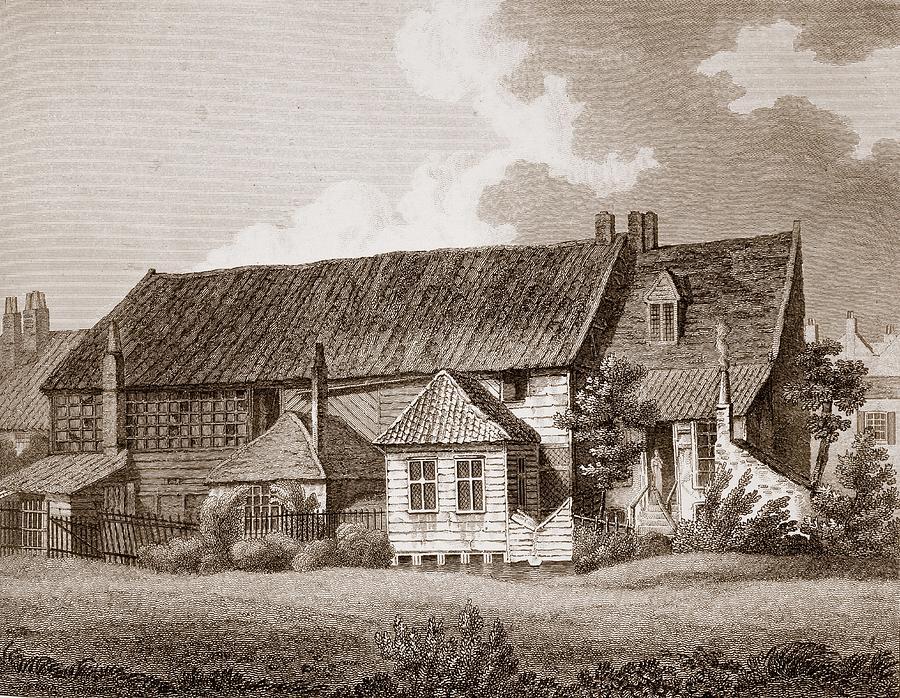 Southwark Drawing - John Bunyans Meeting House, Early 19th by English School