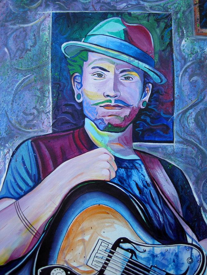 John Butler Trio Painting - John Butler by Joshua Morton