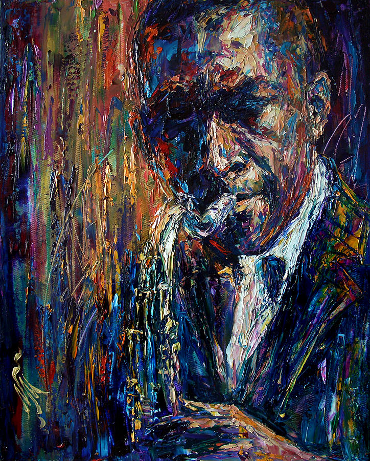 John Coltrane Painting - John Coltrane by Natasha  Mylius