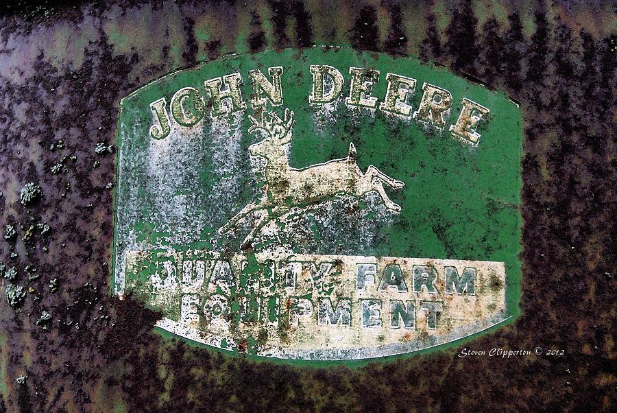 John Deere Photograph - John Deere 2 by Steven Clipperton