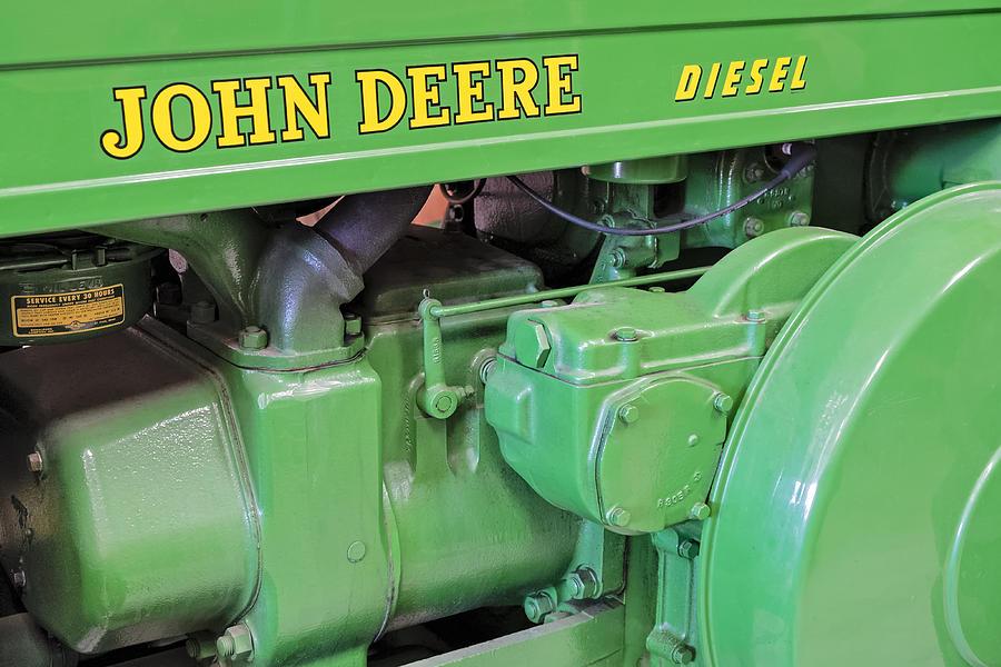 Diesel Photograph - John Deere Diesel by Susan Candelario