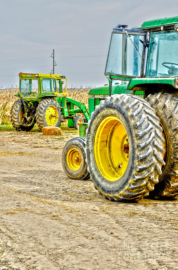 Tractor Photograph - John Deere by Baywest Imaging