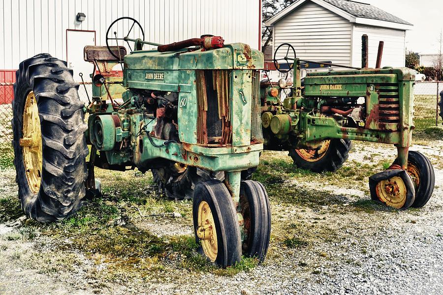 John Deere Photograph - John Deere Past by Kelly Reber