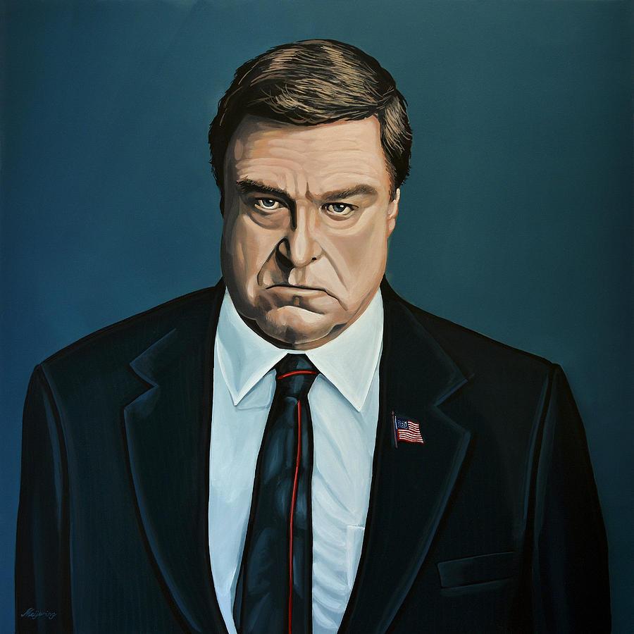 John Goodman Painting - John Goodman by Paul Meijering