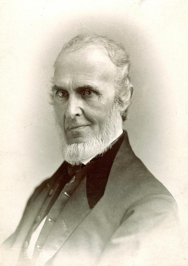 1880 Photograph - John Greenleaf Whittier (1807-1892) by Granger