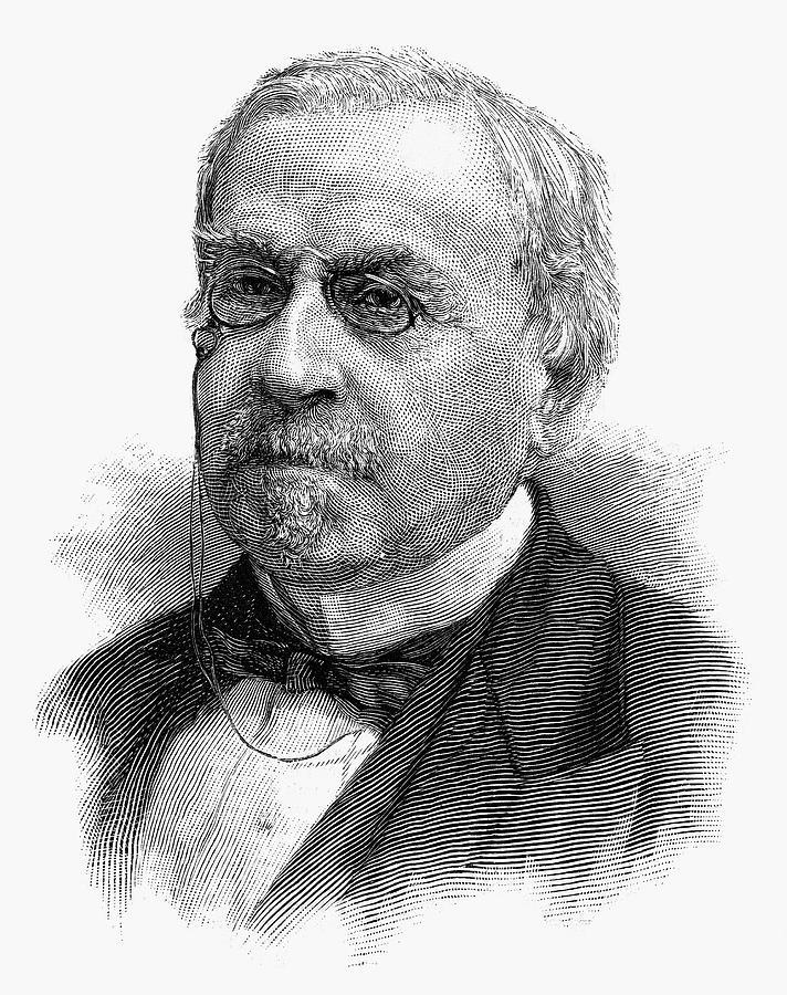 1888 Painting - John Guy Vassar (1811-1888) by Granger