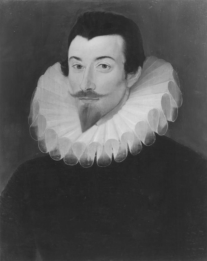 John Harington (1561-1612) Painting by Granger