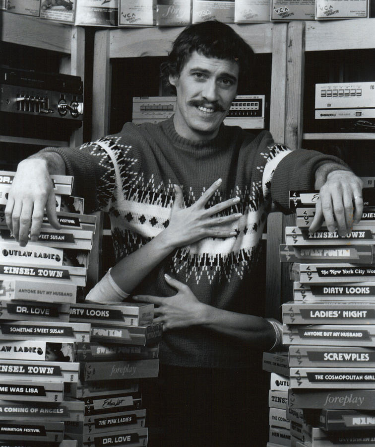 John Holmes in sweater Photograph by John Holmes