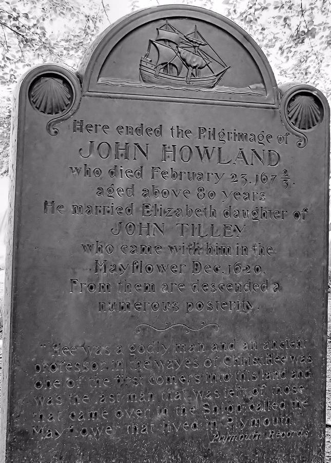 Pilgrim Photograph - John Howland by Janice Drew