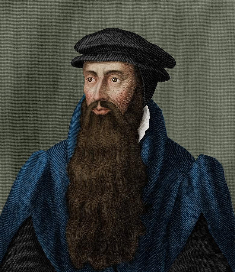 1500s Photograph - John Knox by Maria Platt-evans